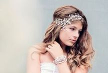 Wedding Head Pieces & Hair Pins / Wedding Head Pieces & Hair Pins / by Bride's Book