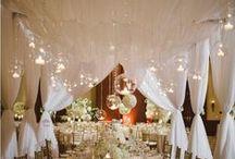 Déco de table / La décoration des tables de mariage et de fête, que ce soit chic, champêtre ou maritime...