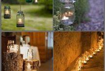 Déco de bougies / Les plus belles décos de bougies sur les tables de fête