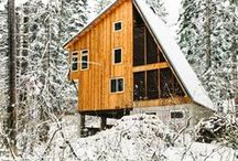 Winter Wonderhomes / Designed and tastefully decorated for the colder months.