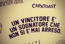 CAPATOAST STATE OF MIND / Capatoast è una filosofia, un credo, un modo di essere e di vivere. Non vendiamo solo toast, ma promuoviamo il coraggio e l'ottimismo come stile di vita.