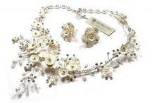 Parure bijoux mariage / Parure bijoux mariage en cristal Swarovski, perles ou CZECH : collier, bracelet, boucles d'oreilles, ensembles coordonnés pour mariage  #jewelry #wedding #bridal #bijoux #mariage #mariée #mariee