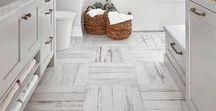 White Hardwood Floors Done Right / White wooden floors we love