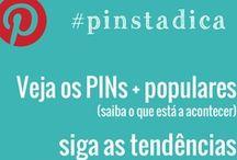 Dicas Pinterest / Dicas sobre Pinterest. #Pinstadica - dicas rápidas para fazer REPIN...
