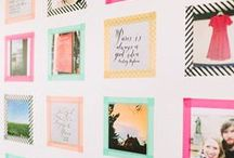 Washi Tape Ideas / collecting all sorts of cute and creative washi tape ideas. A board dedicated to our favourite crafty item, washi tape ♥ / by Fox and Star