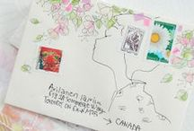 Snail Mail and Mail Art ✉ / Cute inspiration for putting pen to paper and sending pretty snail mail letters and parcels. / by Fox and Star