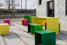 LA 3 | details _ furniture + seats / landscape architecture details