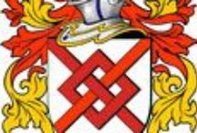 BLAKE ANCESTORS FROM IRELAND & COAT OF ARMS / VIRTUS SOLA NOBILITAT = GOOD VIRTUES ALONE IS NOBILITY