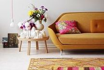 Interiors Inspiration for Nadia / Inspiration for my interior styling - colours, patterns, textures, shapes….
