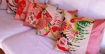 Kimono Craft / Amazing treasures made from vintage Japanese kimono fabrics!