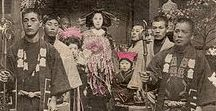 Old Japan / Old photographs and postcards for long-ago Japan. Inspiring!