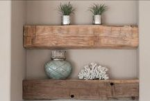 Bathroom Style / Update any bathroom style with a beautiful wood piece!