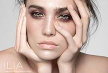 EYES / Looks that inspire us, with ideas that can be replicated with our new collection of eye shadows and eye liners: http://iliabeauty.com/collections/eyes