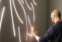 Underscore - Lines of Light / Inspiration through Integration.  Lines of light that converse with architecture. #underscore #graphiclighting #linesoflight #LightLines #iGuzzini #Lighting #Light #Luce #Lumière #Licht #Lines #Inspiration #Architecture #Architettura #Effetti #LightingEffect