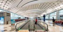 Infrastructure / #iGuzzini#Lighting #Light #Luce #Lumière #Licht #Airports #Trainstation #Parking #Carparks #Bridges #Expo
