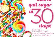 Geen suiker challenge / Lekker en gezond eten zonder toegevoegde of geraffineerde suiker.
