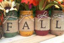 Fall Decor / Enhance your home with the sights and scents of Fall!