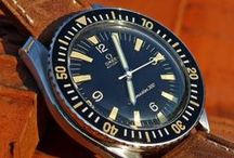 Sporty Watches / Chronographs, and other (usually expensive) toys for men.
