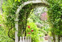 Garden Gate Love / garden gates / by Sweetopia ~ Marian Poirier