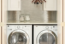 Laundry Room Love / favorite laundry rooms / by Sweetopia ~ Marian Poirier