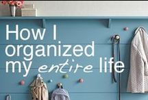 Clutter Free! / Tips to  keep our home clean & organized