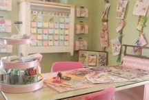 Craft Room Love / favorite craft room inspiration / by Sweetopia ~ Marian Poirier