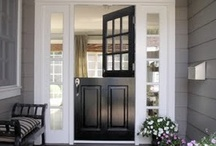 Dutch Door Love / Door split in half... looks so charming / by Sweetopia ~ Marian Poirier