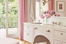 Feminine Home Decor / A collection of feminine home decor ideas in the prettiest pink hues for the girly girl.