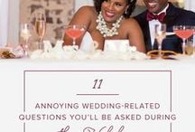 Wedding Etiquette & Advice / WeddingWire's wedding etiquette tips and advice from pre-engagement to post-wedding! Etiquette and advice for the bride, the groom, family and friends.