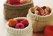 Knit, knit, knit away / Yarn inspired