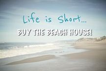 To the beach.....house! / by Jeanne White