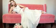 Glam Wedding Dresses / For the glamorous bride -- find your perfect wedding dress to match your fabulous wedding style.