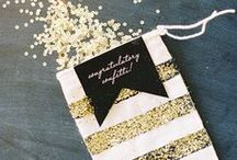 All That Glitters / Find the best glittery inspiration & ideas for your wedding day. / by WeddingWire