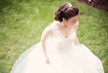 Brides / Get inspired for your bridal look with our beautiful brides pictured on their wedding day. / by WeddingWire