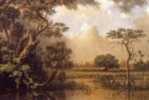 Luminism / Luminism is an American landscape painting style of the 1850s – 1870s, characterized by effects of light in landscapes, through using aerial perspective, and concealing visible brushstrokes. Luminist landscapes emphasize tranquillity, and often depict calm, reflective water and a soft, hazy sky. The term luminism was introduced by mid-20th-century art historians to describe a 19th-century American painting style that developed as an offshoot of the Hudson River school.