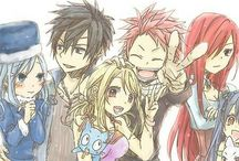 Fairy Tail / by Kendall Timmons