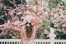 Spring Fashion / A collection of feminine Spring outfit inspiration and ideas for the girly girl.