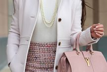 Winter Fashion / A collection of feminine Winter outfit inspiration and ideas for the girly girl.
