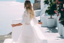 Summer Fashion / A collection of feminine Summer outfit inspiration and ideas for the girly girl.