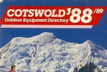Cotswold Outdoor - Heritage Catalogue Covers / Here is a selection of our old catalogue covers dating back to 1984. Oh how times have changed!