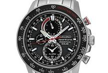 Solar / Solar Watches from Seiko - powered by light energy - no battery changes required