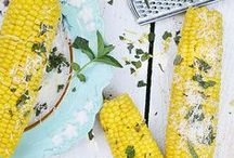 Yellow + Turquoise / http://www.judithdcollins.com/
