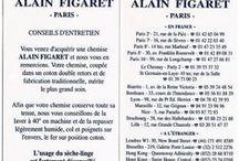 La chemise Alain Figaret / Découvrez le large choix de cols proposés par Alain Figaret,  comment est conçue votre chemise et comment l'entretenir