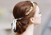 wedding day hair & makeup / some of our favorite hair & makeup inspirations for brides