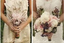 bouquets / white may be traditional, but we love colorful bouquets!
