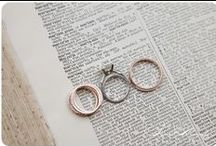 rings / it doesn't have to be blingy to be beautiful. but it doesn't hurt!