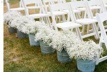 Decoración boda rústico-chic / detalles chic para decorar una boda en el campo
