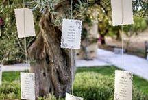 sitting plan / ideas originales para la organización de las mesas de los invitados a una boda diferente