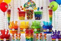 Şeker Büfesi / Candy Buffet / Partilerinizde rengarenk şeker büfeleri yaratmak için ihtiyaç duyacağınız sunum kapları, servis kaşıkları, tepsiler, kavanoz etiketleri, şeker poşetleri PartiPaketi.com ve PartiPaketi Mağazalarında! http://www.partipaketi.com/Kategori/seker-bufesi-candy-buffet-92.parti