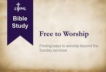 LWML Bible Studies / Free printable Lutheran Bible Studies for personal or group use.